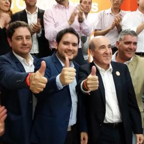 """David Caballero: """"Llegamos a la política para trabajar y que la gente recupere la confianza en los políticos"""""""