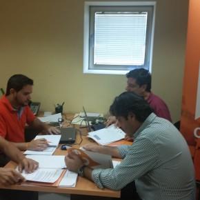 Ciudadanos Elche se reúne con representantes autonómicos y provinciales