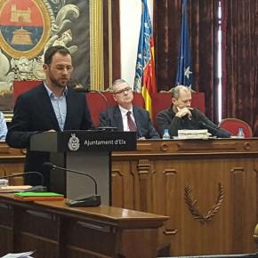 El Pleno del Ayuntamiento de Elche aprueba la moción de Ciudadanos contra el decreto lingüístico de Marzà