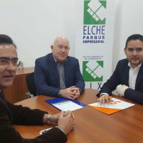Ciudadanos acude al Parque Empresarial de Torrellano para conocer el futuro del sector y ofrecer su apoyo en busca de un mayor crecimiento