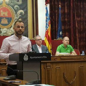 El Pleno del Ayuntamiento de Elche aprueba las dos mociones de Ciudadanos por unanimidad