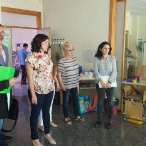 Ciudadanos visita Aspanias y reclama que se trabaje para terminar la residencia del centro
