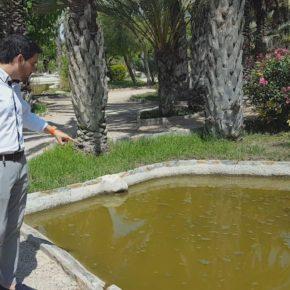 Ciudadanos reclama la limpieza de los estanques situados junto al parque de tráfico