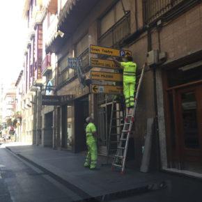 Ciudadanos denuncia que el tripartito sigue instalando todas las señales sólo en valenciano