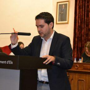 El Ayuntamiento aprueba las rebajas fiscales propuestas por el grupo Ciudadanos Elche