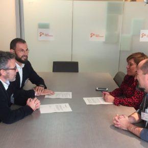 Cs Elche y el AMPA IES de Torrellano se reúnen en Valencia para exigir soluciones al Conseller Marzà