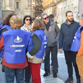 CsElche acude a la manifestación en Murcia convocada por Riegos de Levante para exigir agua