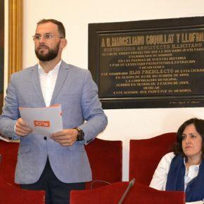 Cs Elche logra que el Ayuntamiento invierta 150.000 euros en la conservación del Patrimonio ilicitano
