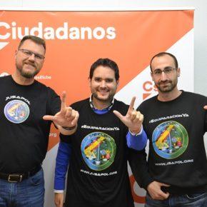 Ciudadanos Elche se une a las reivindicaciones de JUSAPOL para exigir la equiparación salarial de la Policía Autonómica y la Guardia Civil