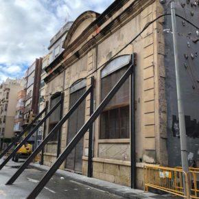"""Sempere: """"Ayuntamiento y Consellería tuvieron diez años para tomar una decisión sobre el futuro del edificio El Progreso y ahora su dejadez la pagamos todos los ilicitanos"""""""