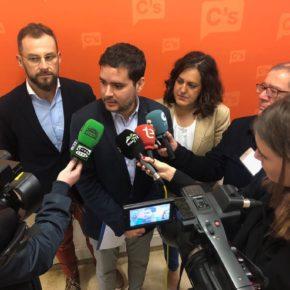 Cs reúne los apoyos de los partidos de la oposición para impedir que PSOE y Compromís avancen con el proyecto de la peatonalización