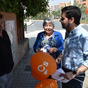 Ciudadanos recibe las quejas por el cierre de los Centros de Salud en horario vespertino en los meses de verano