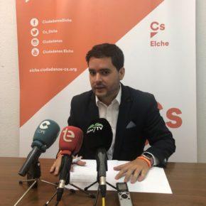 Ciudadanos Elche solicita una nueva rebaja del IBI del 5% para todas las familias