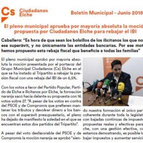 Boletín Actualidad Junio 2018 Cs Elche