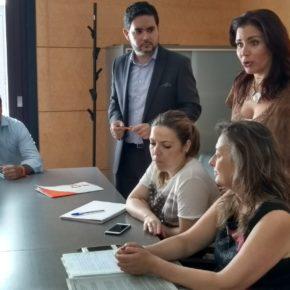 David Caballero se desplaza a Valencia con los vecinos de La Marina afectados por el PATIVEL