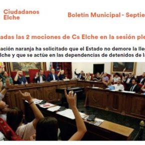 Boletín Actualidad Septiembre 2018 Cs Elche
