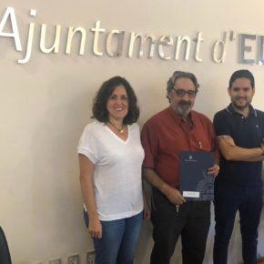 Las Asociaciones ADIPSI y DEFORA firman el convenio con el Ayuntamiento propuesto por Ciudadanos Elche