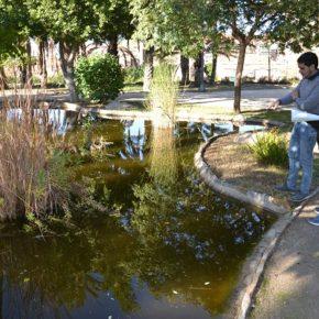 Caballero solicita sanear los lagos del parque infantil de Tráfico al tratarse de uno de los puntos turísticos de la ciudad