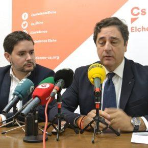 Cs presenta 27 enmiendas a los PGV para conseguir hasta 50 millones de euros en Elche